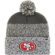 '47 Men's San Francisco 49ers Static Cuffed Grey Knit