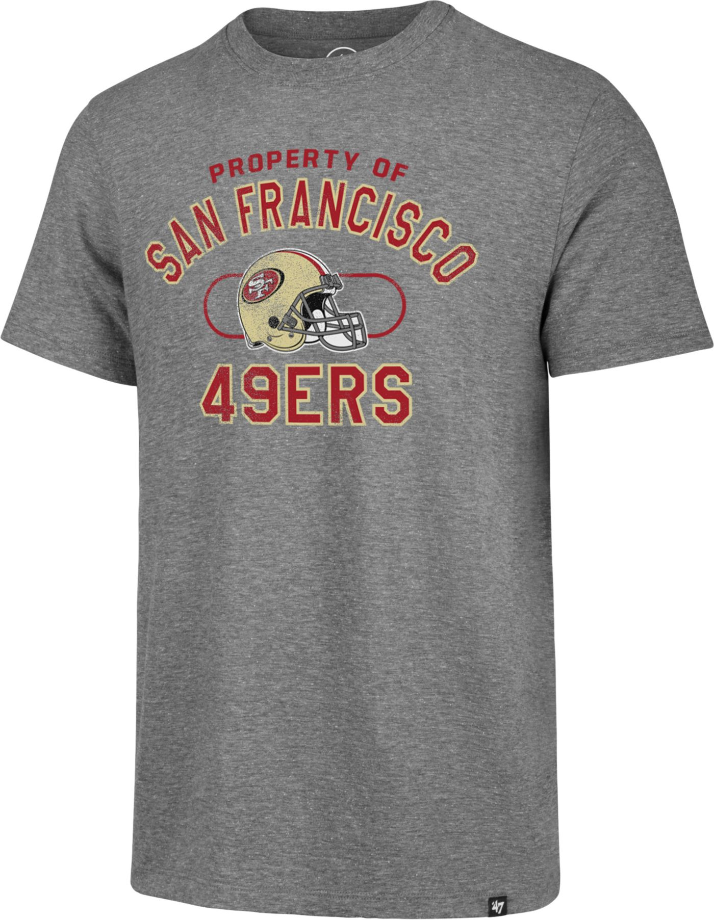 '47 Men's San Francisco 49ers Match Grey T-Shirt