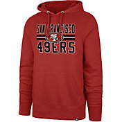 '47 Men's San Francisco 49ers Block Strike Red Hoodie