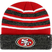 '47 Men's San Francisco 49ers Rotation Red Cuffed Knit