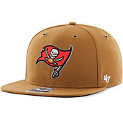 '47 Men's Tampa Bay Buccaneers Carhartt Captain Adjustable Brown Hat