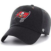 '47 Men's Tampa Bay Buccaneers Carhartt Clean Up Adjustable Black Hat
