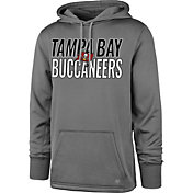 '47 Men's Tampa Bay Buccanneers Tech Fleece Grey Performance Hoodie