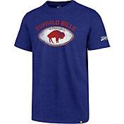 '47 Men's Buffalo Bills 100th Club Throwback Royal T-Shirt