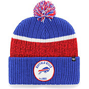'47 Men's Buffalo Bills Holcomb Royal Cuffed Pom Knit