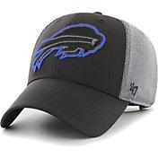 '47 Men's Buffalo Bills Arlo MVP Adjustable Black Hat