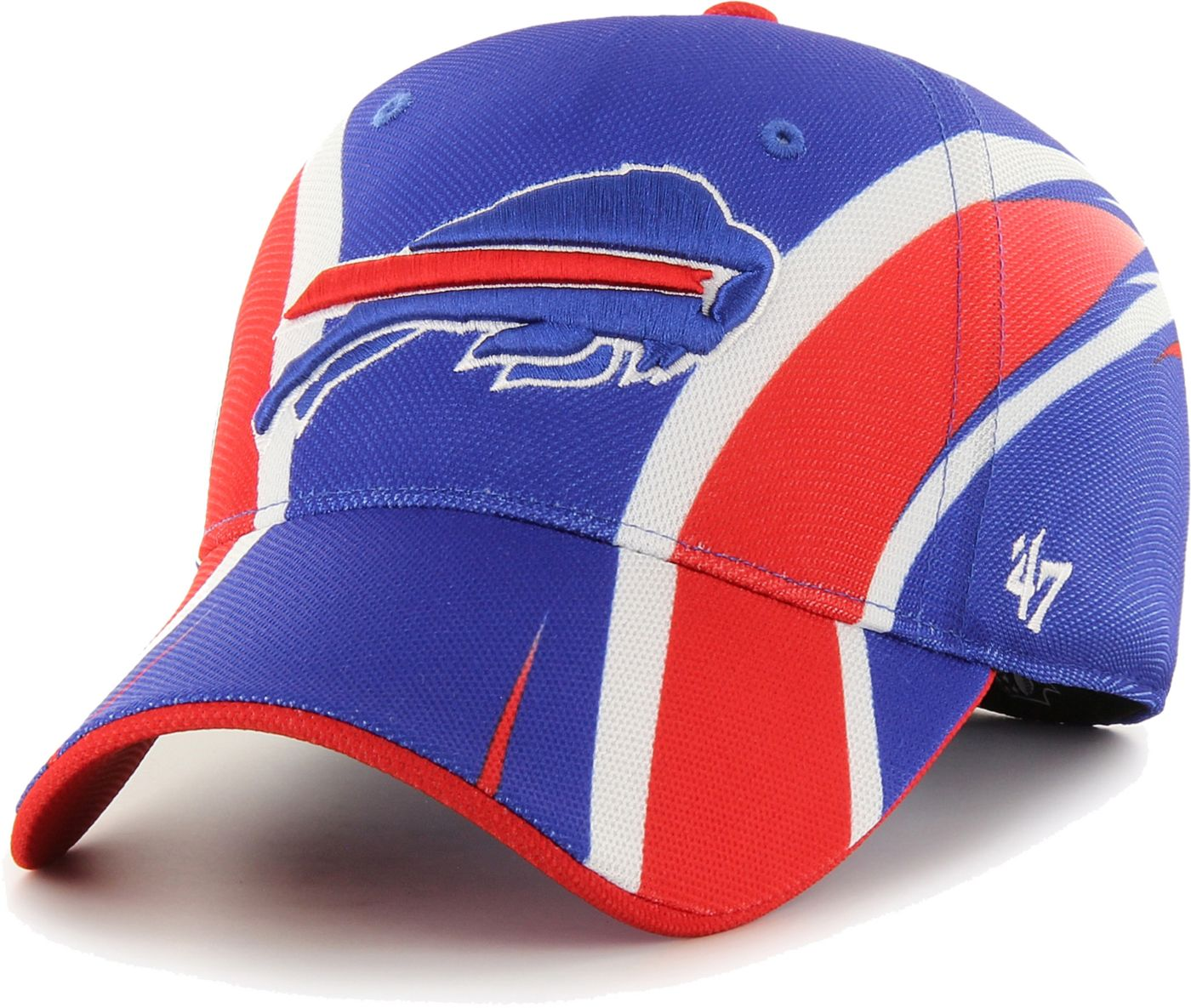 '47 Men's Buffalo Bills Splash Solo Blue Stretch Fit Hat
