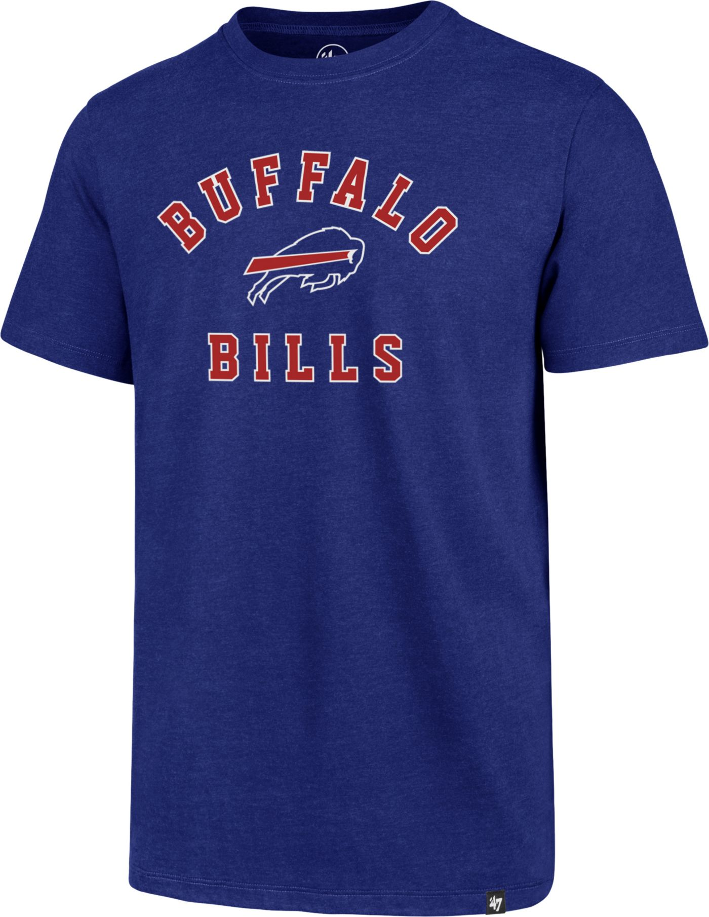 '47 Men's Buffalo Bills Club Arch Royal T-Shirt