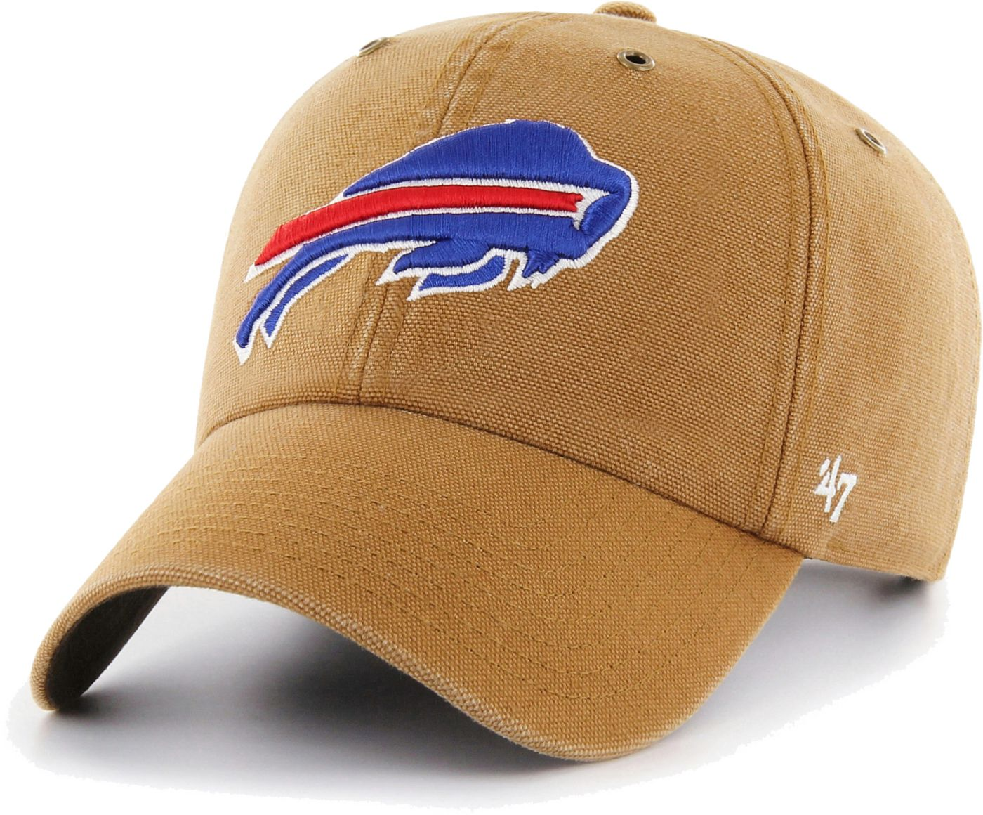 '47 Men's Buffalo Bills Carhartt Clean Up Adjustable Brown Hat