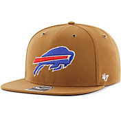 '47 Men's Buffalo Bills Carhartt Captain Adjustable Brown Hat