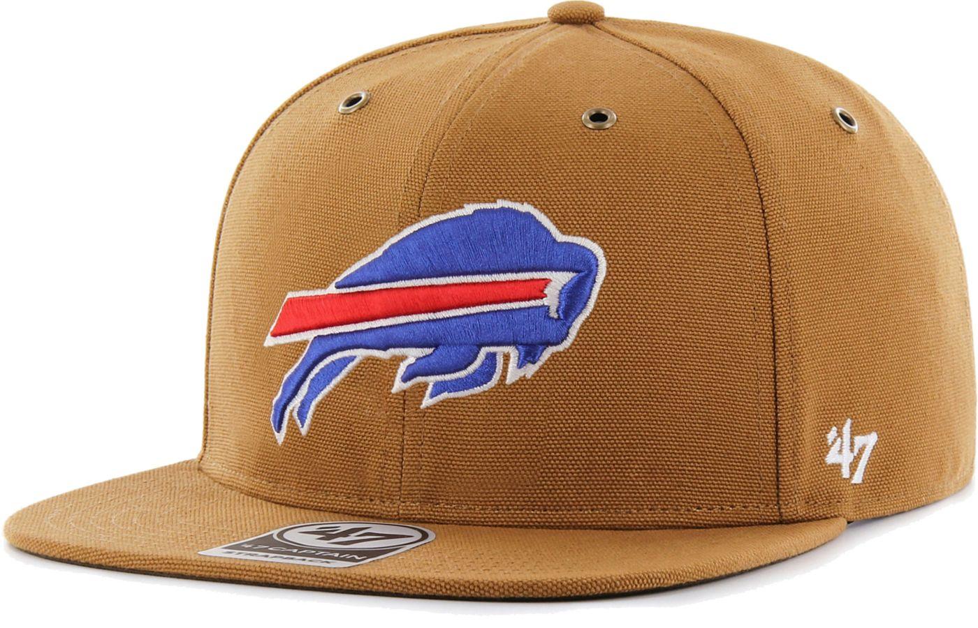 '47 Men's Buffalo Bills Carhartt Captain Adjustable Brown Hat