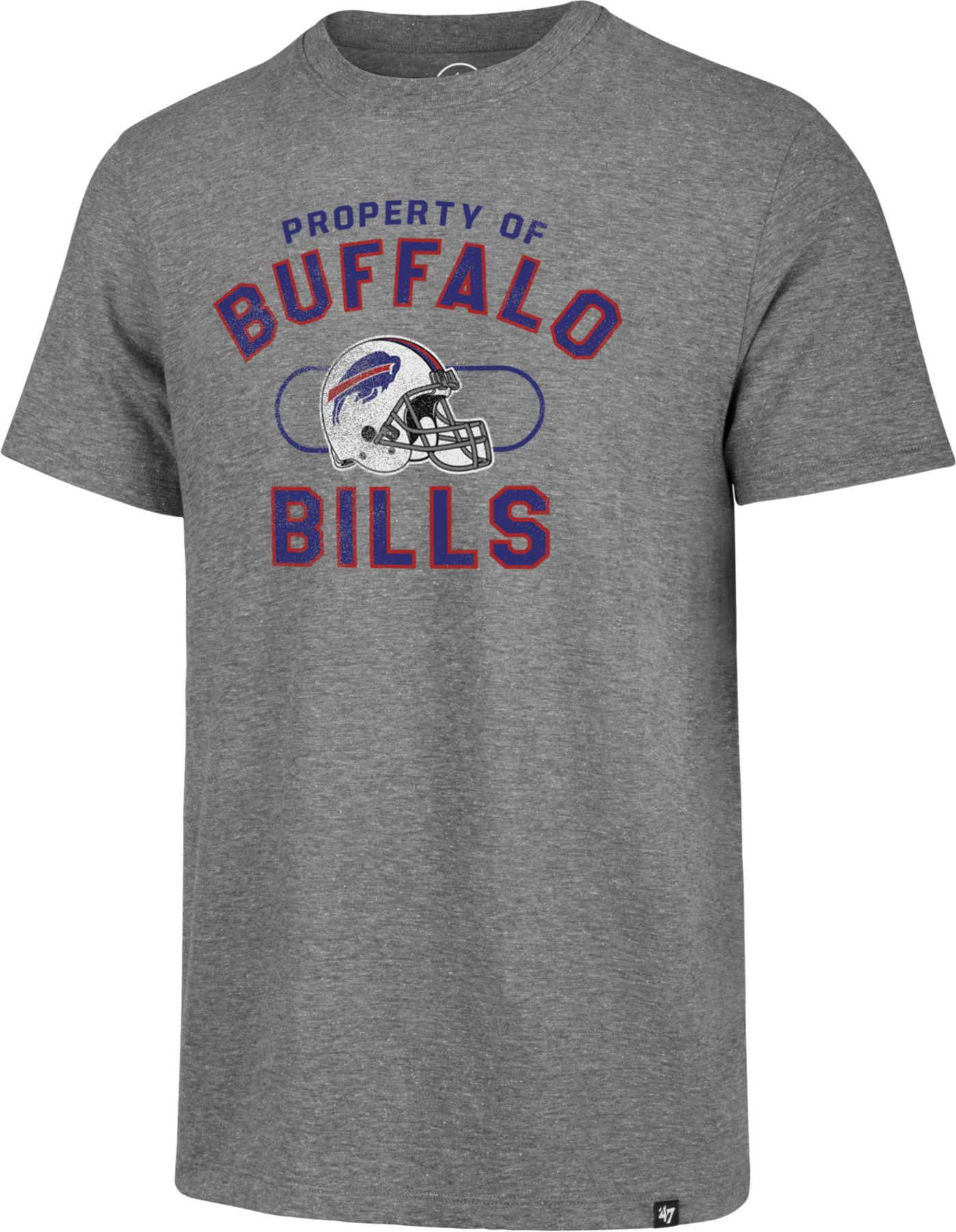 '47 Men's Buffalo Bills Match Grey T-Shirt
