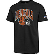 '47 Men's Cincinnati Bengals 100th Club Black T-Shirt