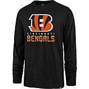 '47 Men's Cincinnati Bengals Rival Black Long Sleeve Shirt