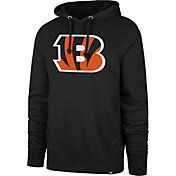 '47 Men's Cincinnati Bengals Headline Black Hoodie