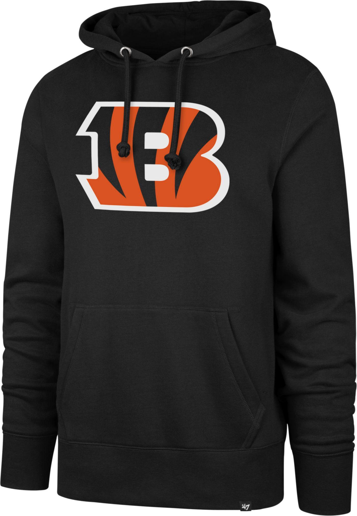 '47 Men's Cincinnati Bengals Headline Black Hoodie