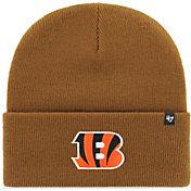 '47 Men's Cincinnati Bengals Carhartt Brown Knit Hat