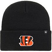 '47 Men's Cincinnati Bengals Carhartt Black Knit Hat