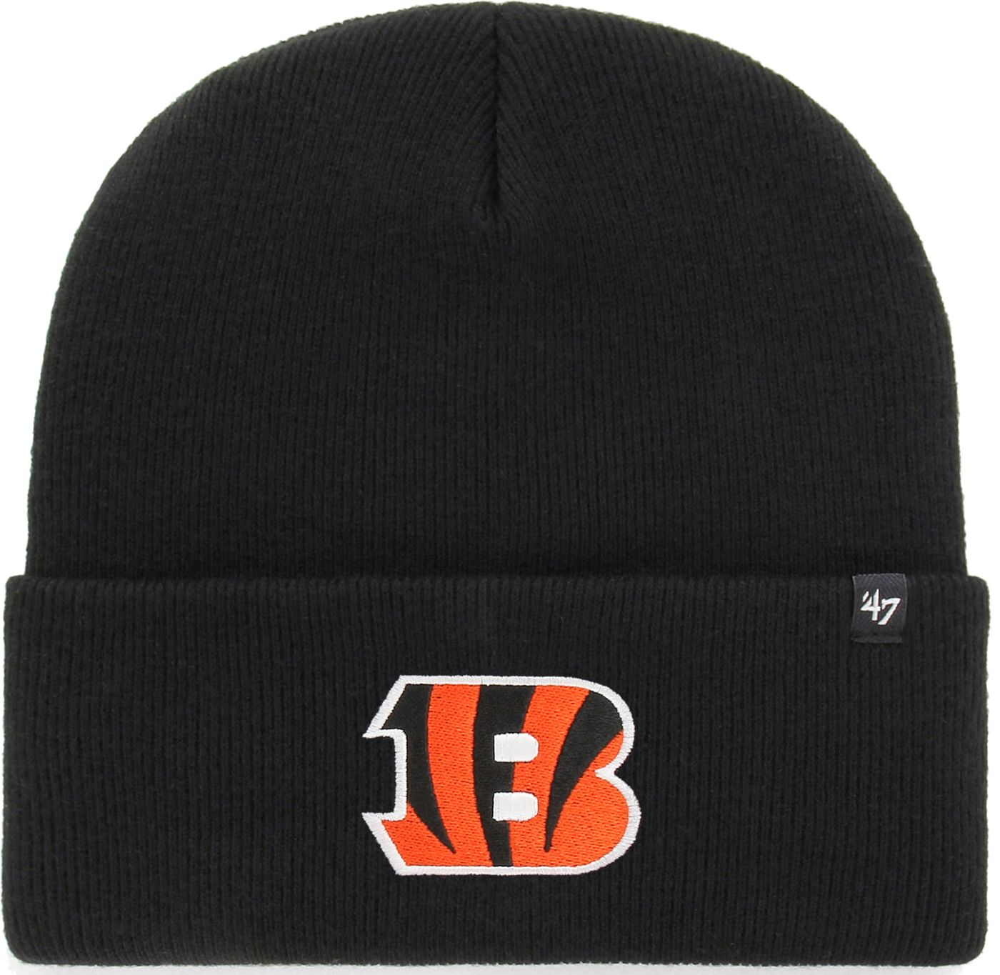 '47 Men's Cincinnati Bengals Carhartt Black Knit Hat