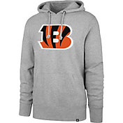 '47 Men's Cincinnati Bengals Headline Grey Hoodie