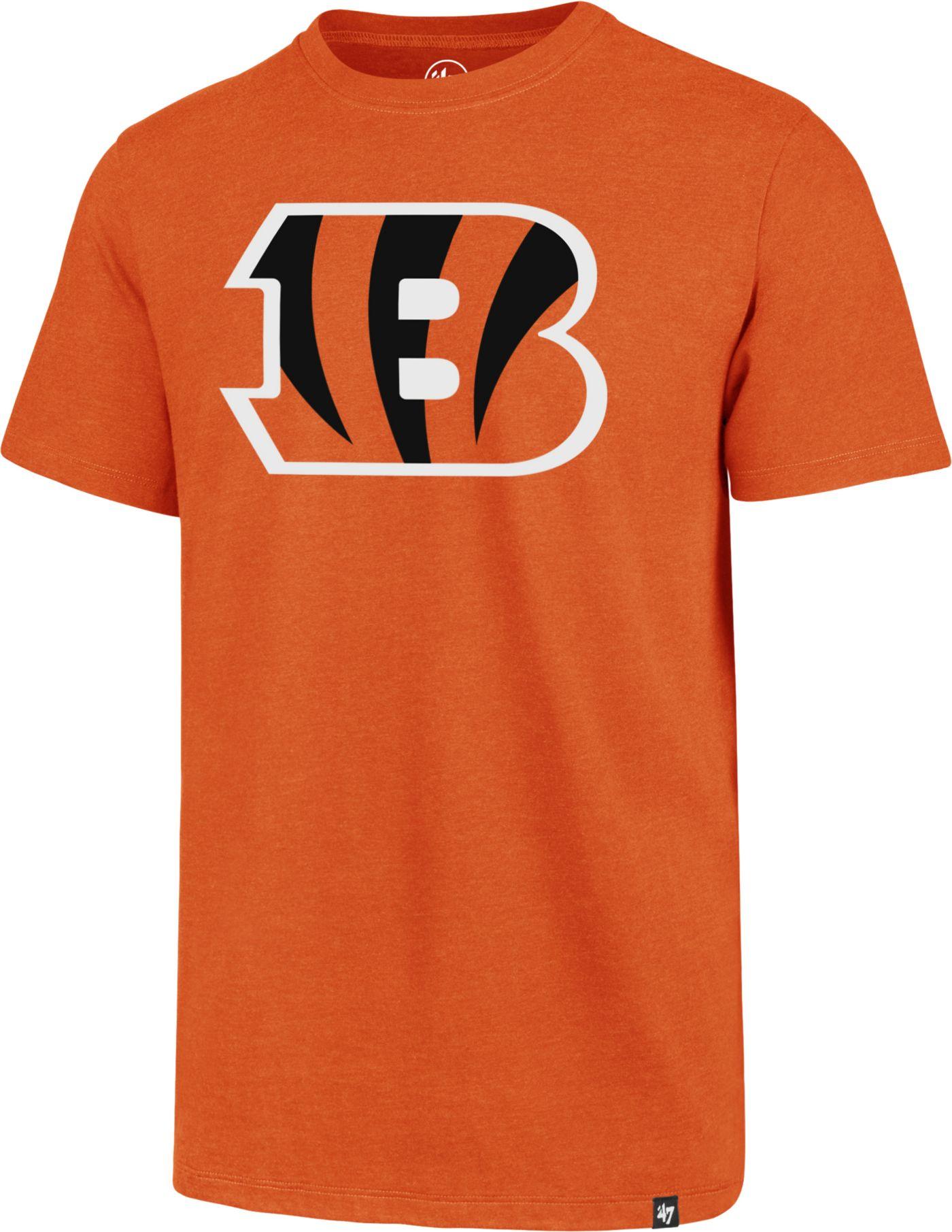 '47 Men's Cincinnati Bengals Imprint Club Orange T-Shirt