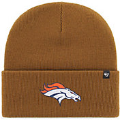 '47 Men's Denver Broncos Carhartt Brown Knit Hat