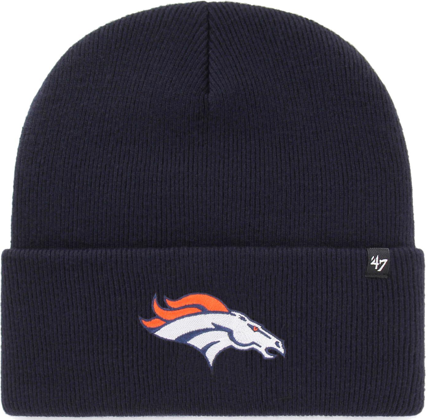'47 Men's Denver Broncos Carhartt Navy Knit Hat
