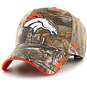 '47 Men's Denver Broncos Frost Realtree Adjustable Camouflage Hat