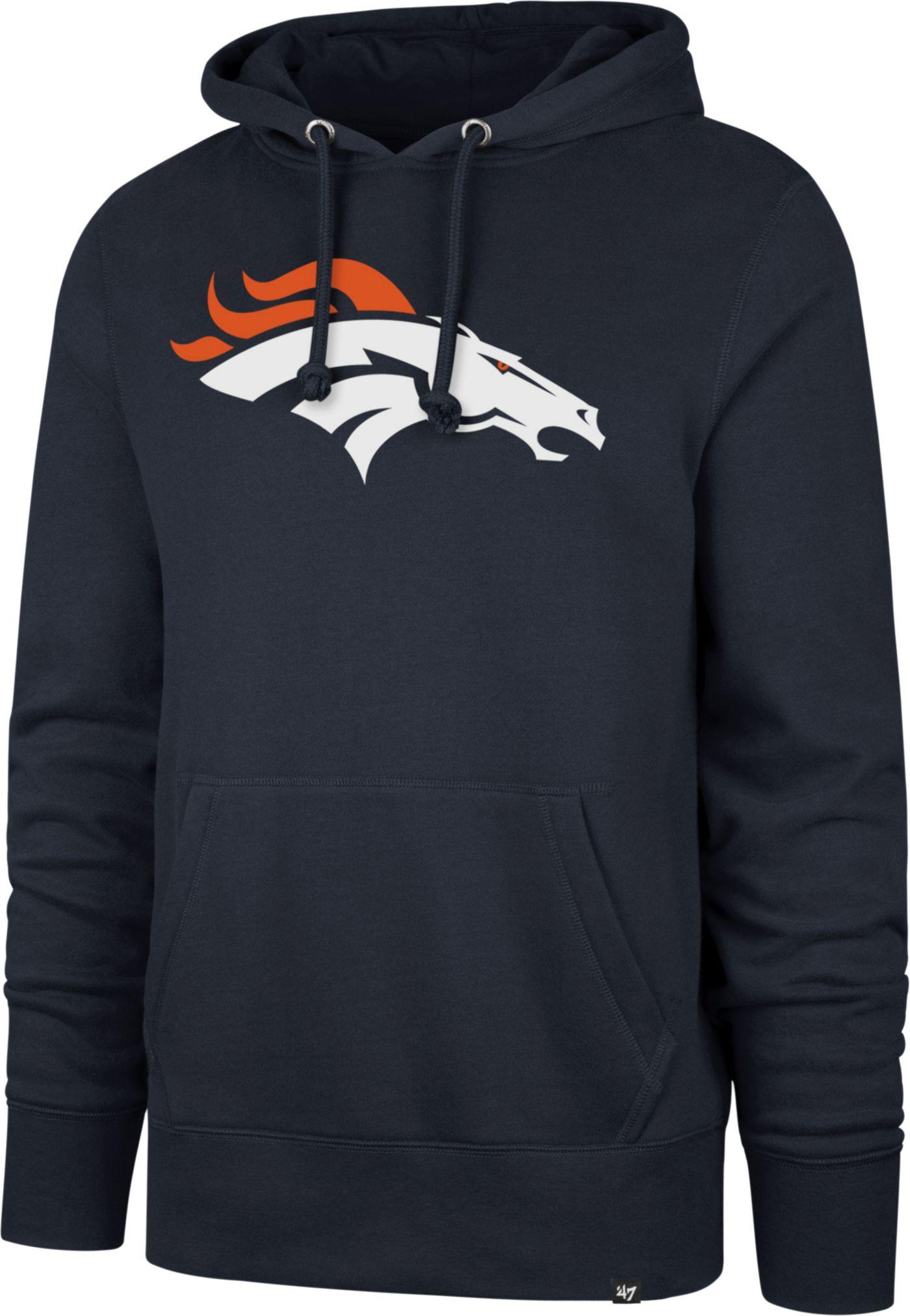 '47 Men's Denver Broncos Headline Navy Hoodie