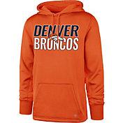 '47 Men's Denver Broncos Tech Fleece Orange Performance Hoodie