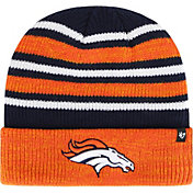 '47 Men's Denver Broncos Rotation Navy Cuffed Knit