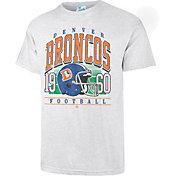 '47 Men's Denver Broncos Tubular Grey Throwback T-Shirt