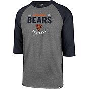 '47 Men's Chicago Bears Club Grey Raglan Shirt