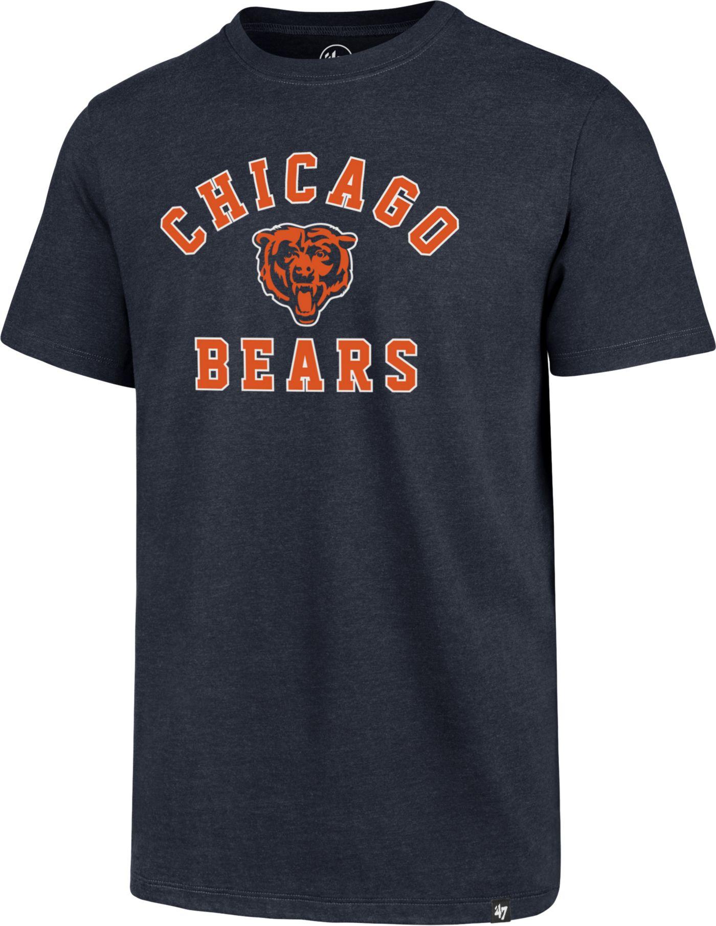 '47 Men's Chicago Bears Club Arch Navy T-Shirt
