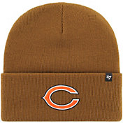 '47 Men's Chicago Bears Carhartt Brown Knit Hat