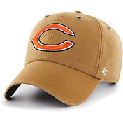 '47 Men's Chicago Bears Carhartt Clean Up Adjustable Brown Hat