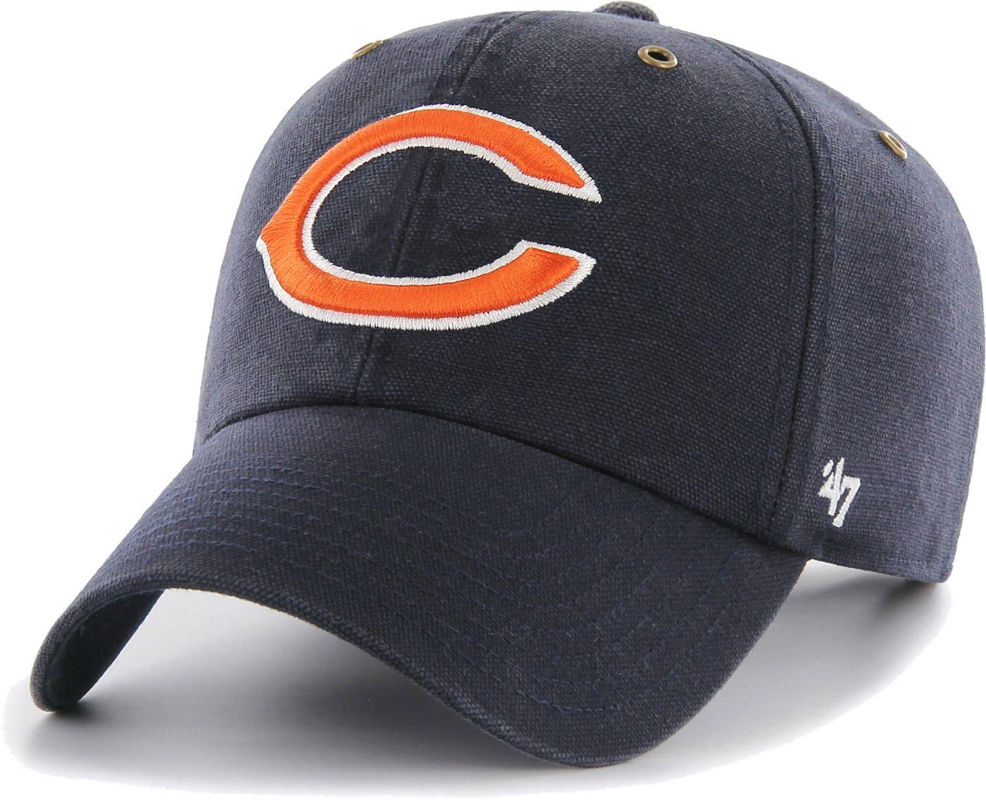 '47 Men's Chicago Bears Carhartt Clean Up Adjustable Navy Hat