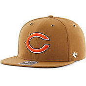 '47 Men's Chicago Bears Carhartt Captain Adjustable Brown Hat
