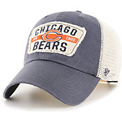 '47 Men's Chicago Bears Crawford Clean Up Adjustable Navy Hat