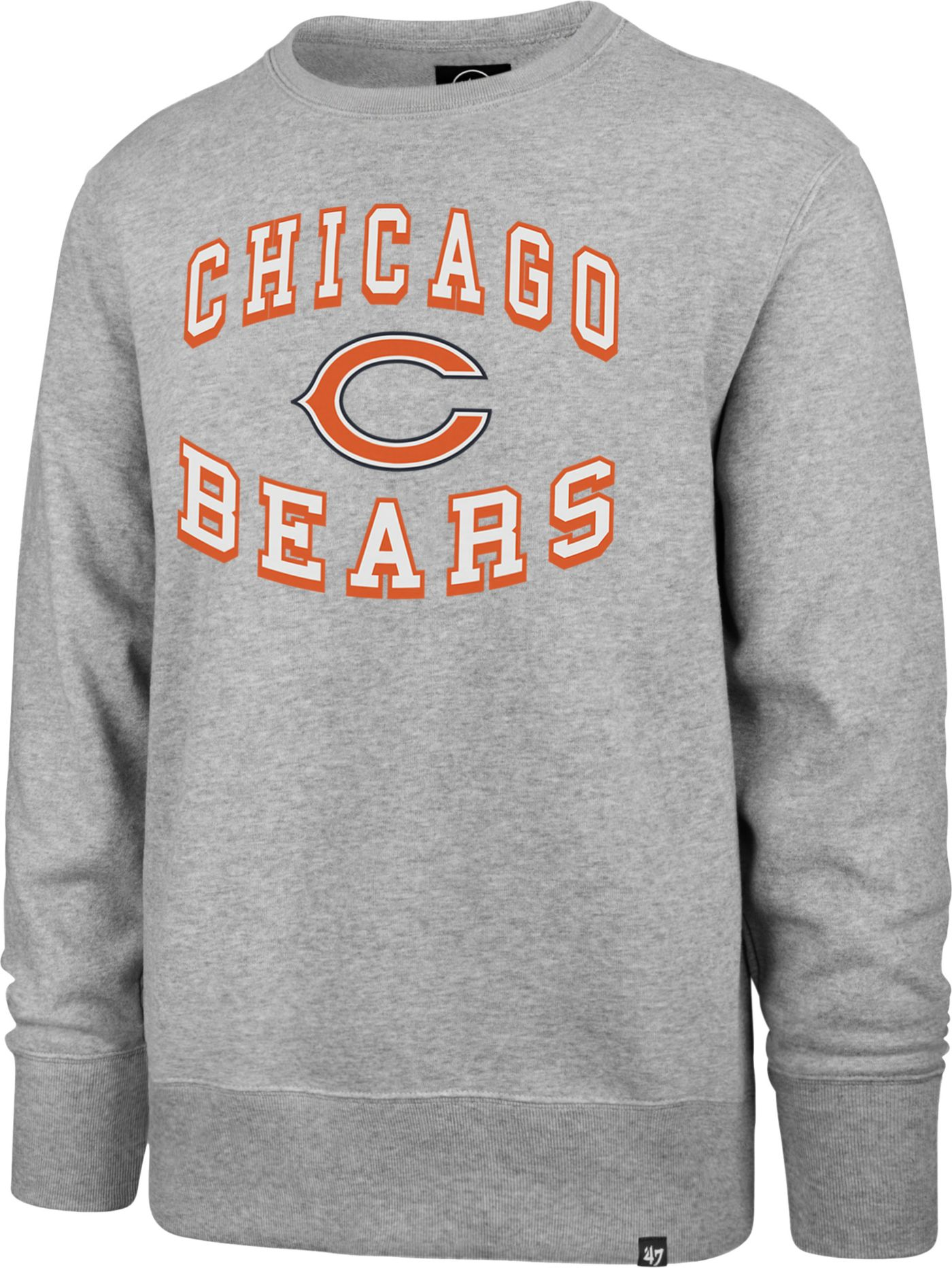 '47 Men's Chicago Bears Headline Grey Crew