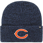 '47 Men's Chicago Bears Brainfreeze Navy Cuffed Knit