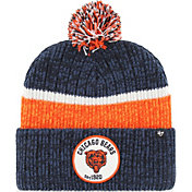 '47 Men's Chicago Bears Holcomb Navy Cuffed Pom Knit