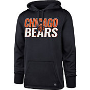 '47 Men's Chicago Bears Tech Fleece Navy Performance Hoodie
