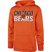 '47 Men's Chicago Bears Tech Fleece Orange Performance Hoodie