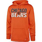 '47 Men's Chicago Bears Tech Fleece Orange Performance Hoodie
