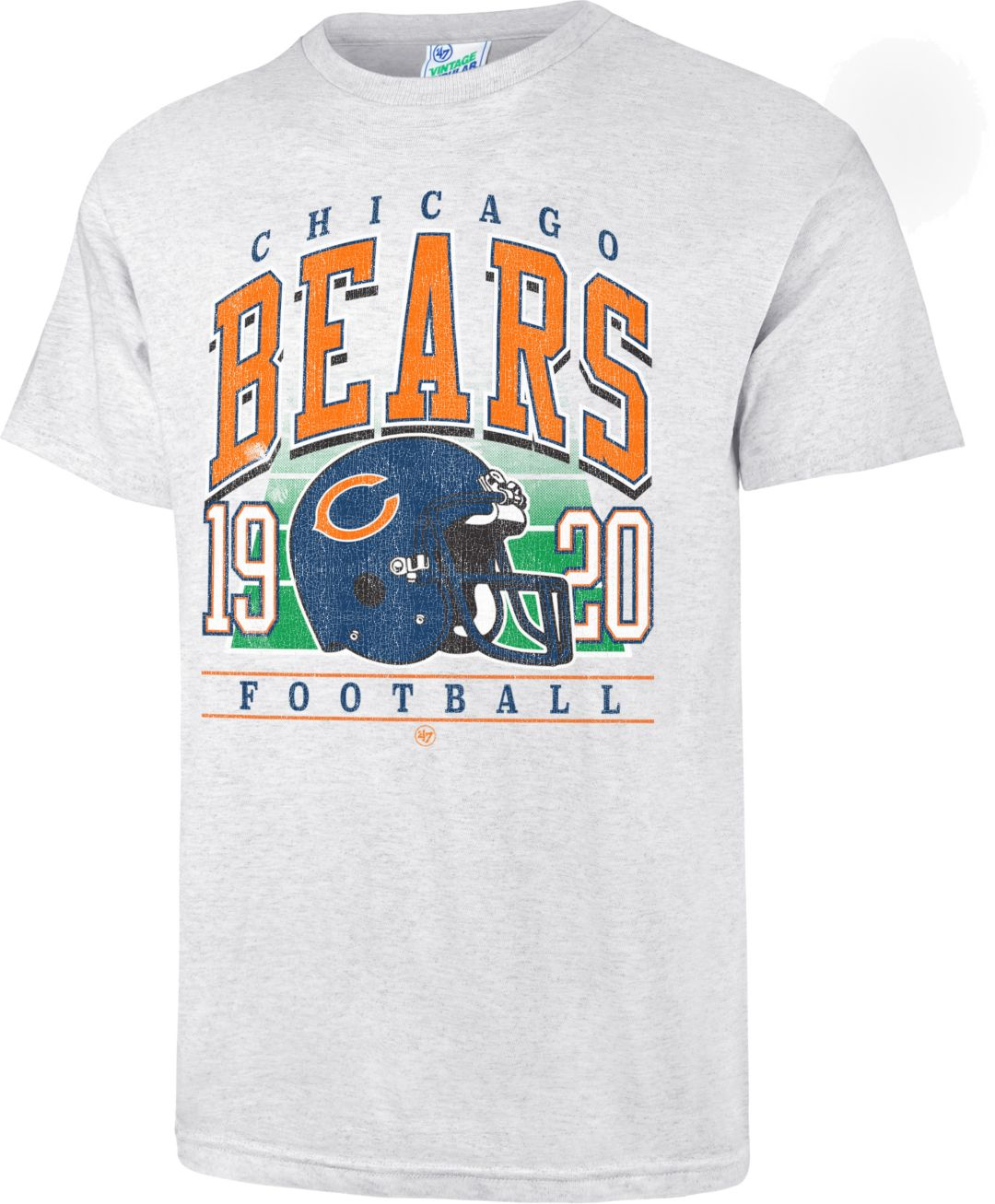 cheap for discount 16a41 020ac '47 Men's Chicago Bears Tubular Grey T-Shirt