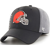 '47 Men's Cleveland Browns Wycliff Contender Stretch Fit Black Hat