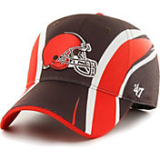 '47 Men's Cleveland Browns Eclipse Solo Brown Stretch Fit Hat