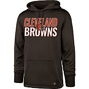 '47 Men's Cleveland Browns Tech Fleece Brown Performance Hoodie