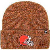 '47 Men's Cleveland Browns Brainfreeze Brown Cuffed Knit